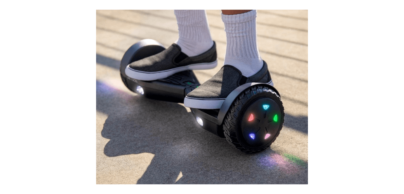 Jetson Aero All Terrain Hoverboard with LED Lights Best Hoverboards Under 500